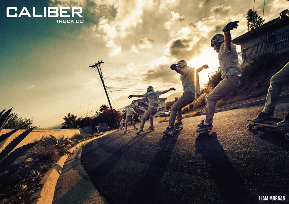 Caliber Truck Co. Ads - BOARDER LABS and CALSTREETS Skateshop TWO ...